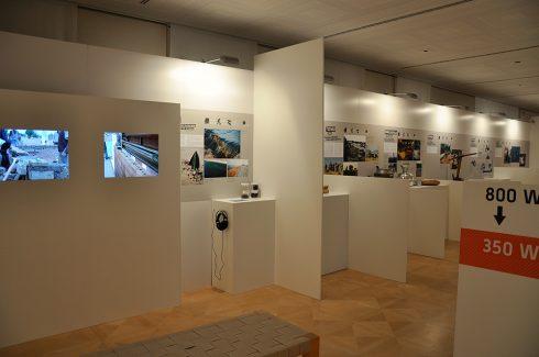 Ausstellung - Monitor, Hörstation