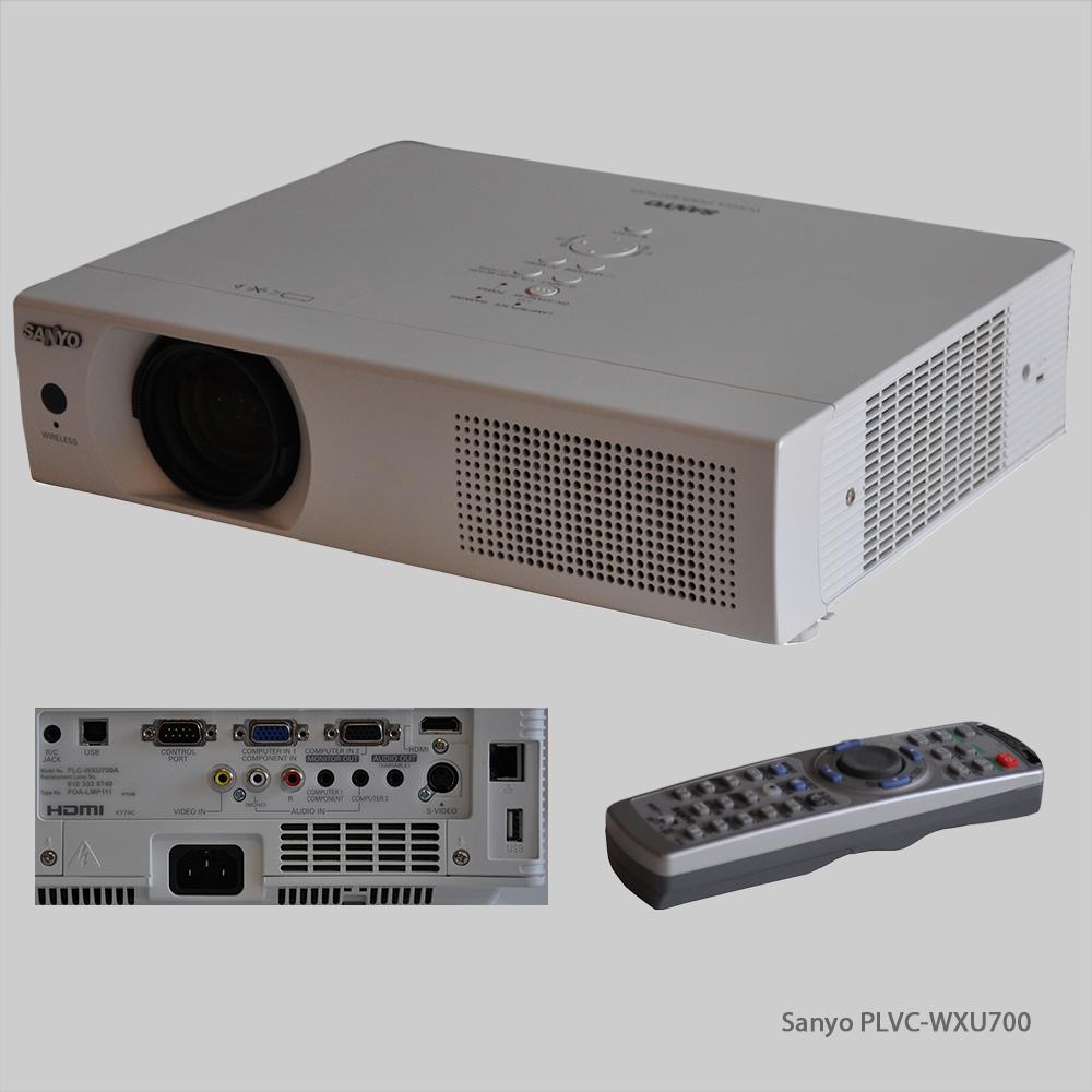 Mietmaterial Medientechnik Sanyo PLVC-WXU700