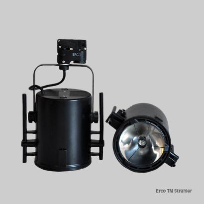 Technik, Material: Beleuchtung Erco TM Strahler