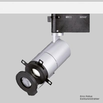 Beleuchtung Erco Pollux Konturenstrahler