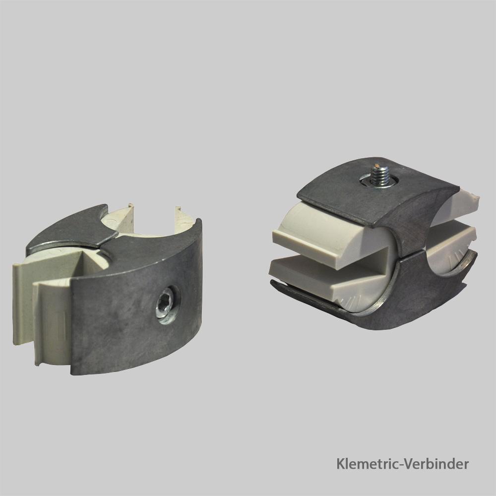 Mietmaterial Wandsysteme: Klemetric-Verbinder