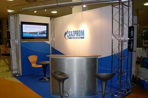 Systembau Gazprom Umsetzung