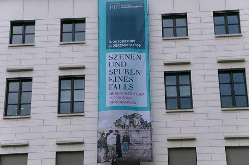 Digitaldruck Banner Berliner Mauer