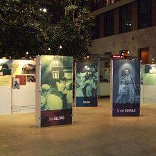Ausstellung präsentieren